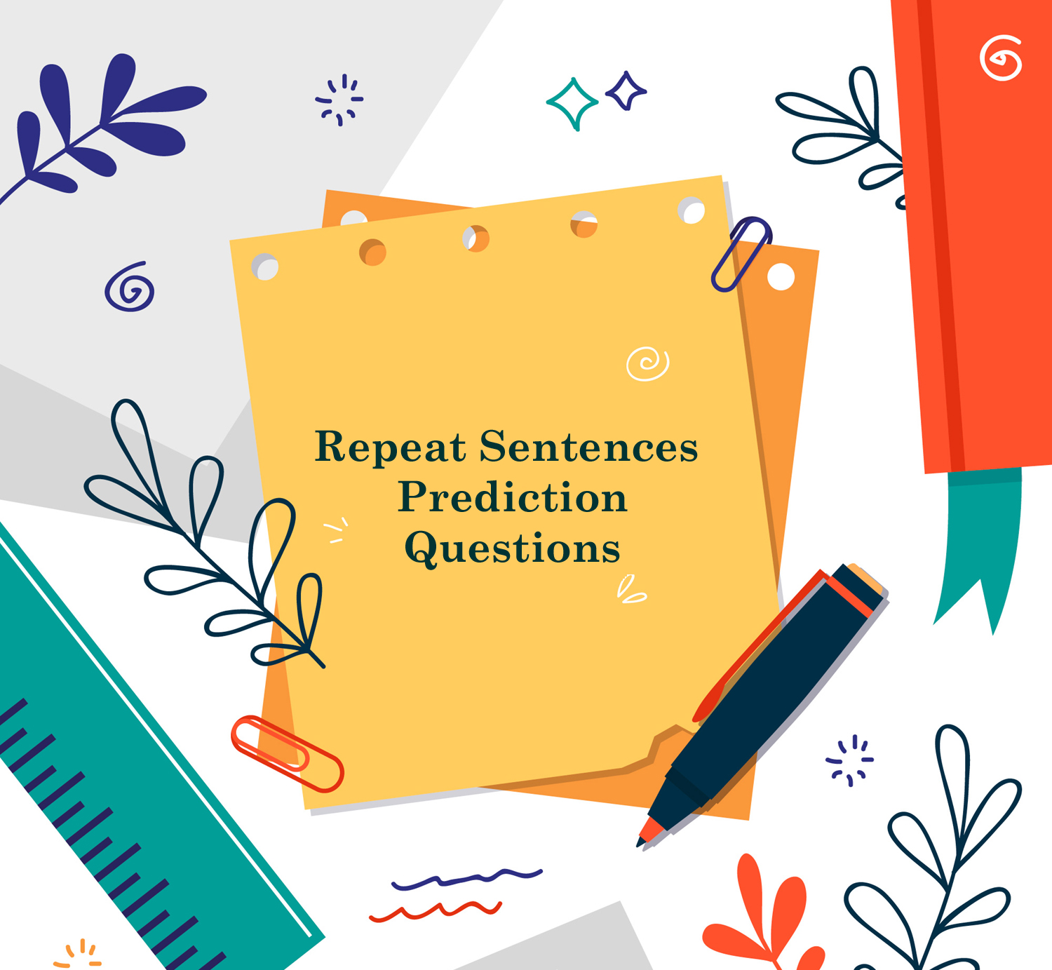 Repeat Sentences Prediction Questions – I