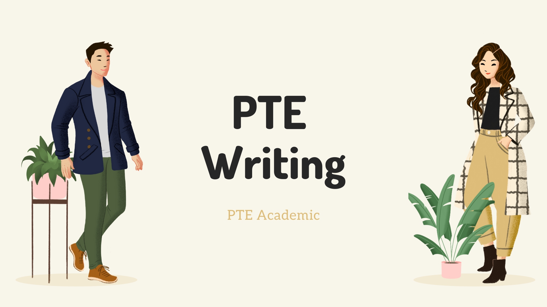 PTE Writing Section Task Type