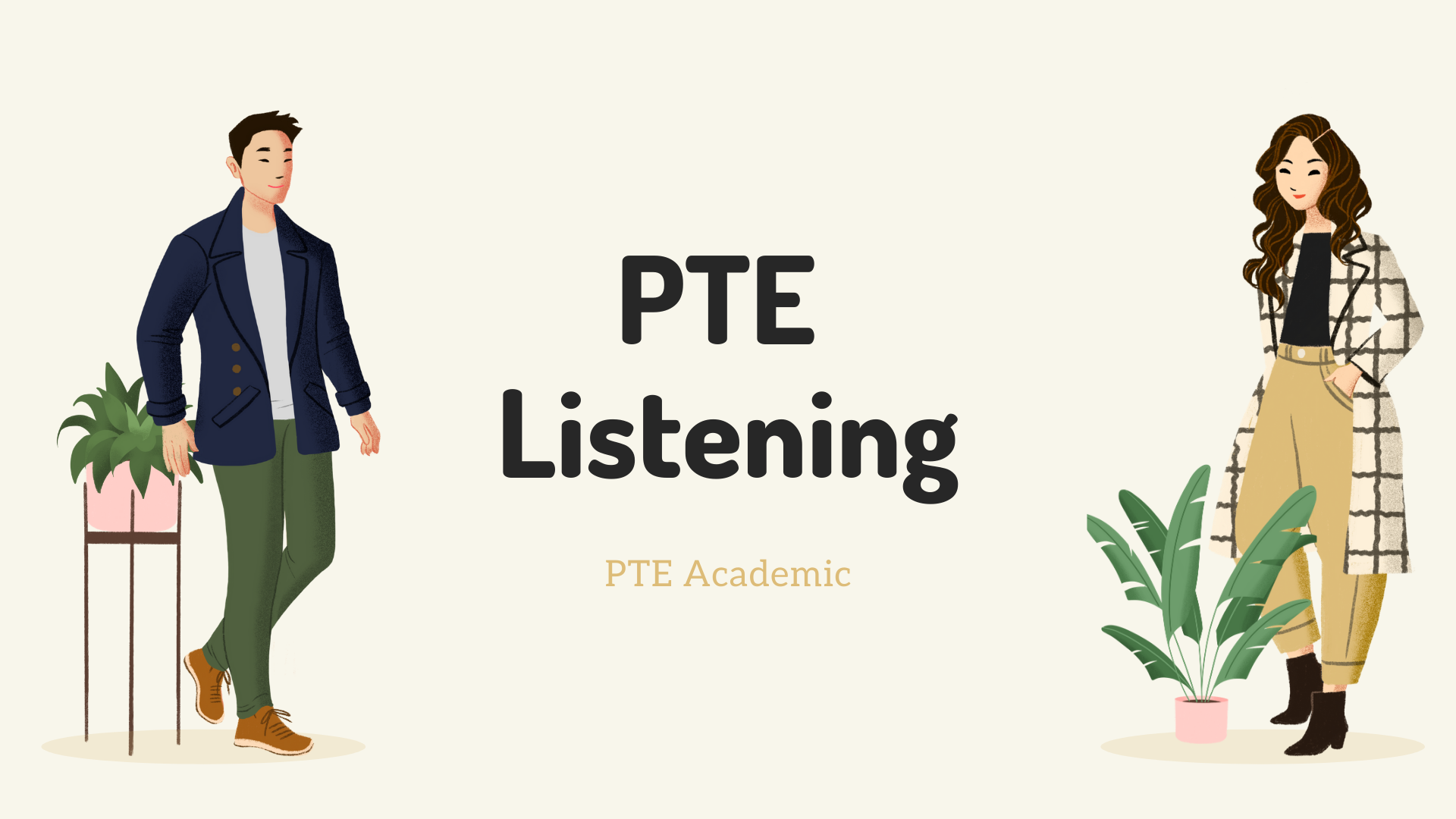PTE Listening Section Task Type